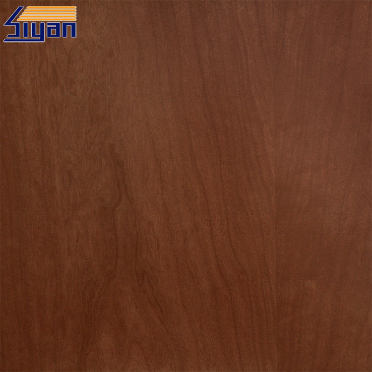 ROHS Decorated PVC Wood Grain Film , PVC Membrane Foil For Doors
