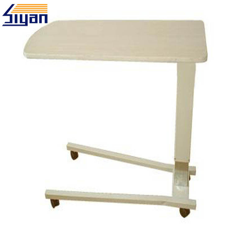 Hospital Bedside MDF Dining Table Top 20mm With PVC Film Pressing Surface